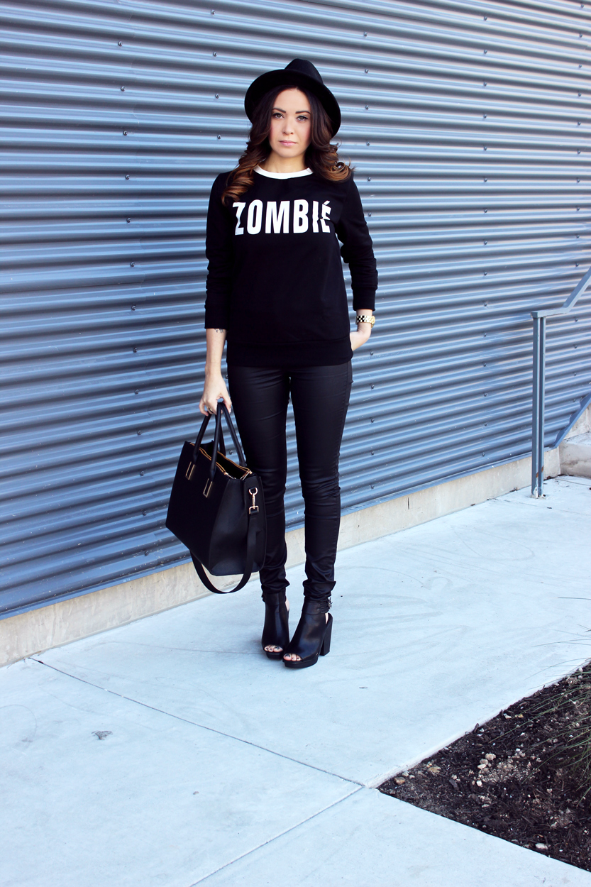 Fixin to Thrill| Austin Fashion Blog: Zombie