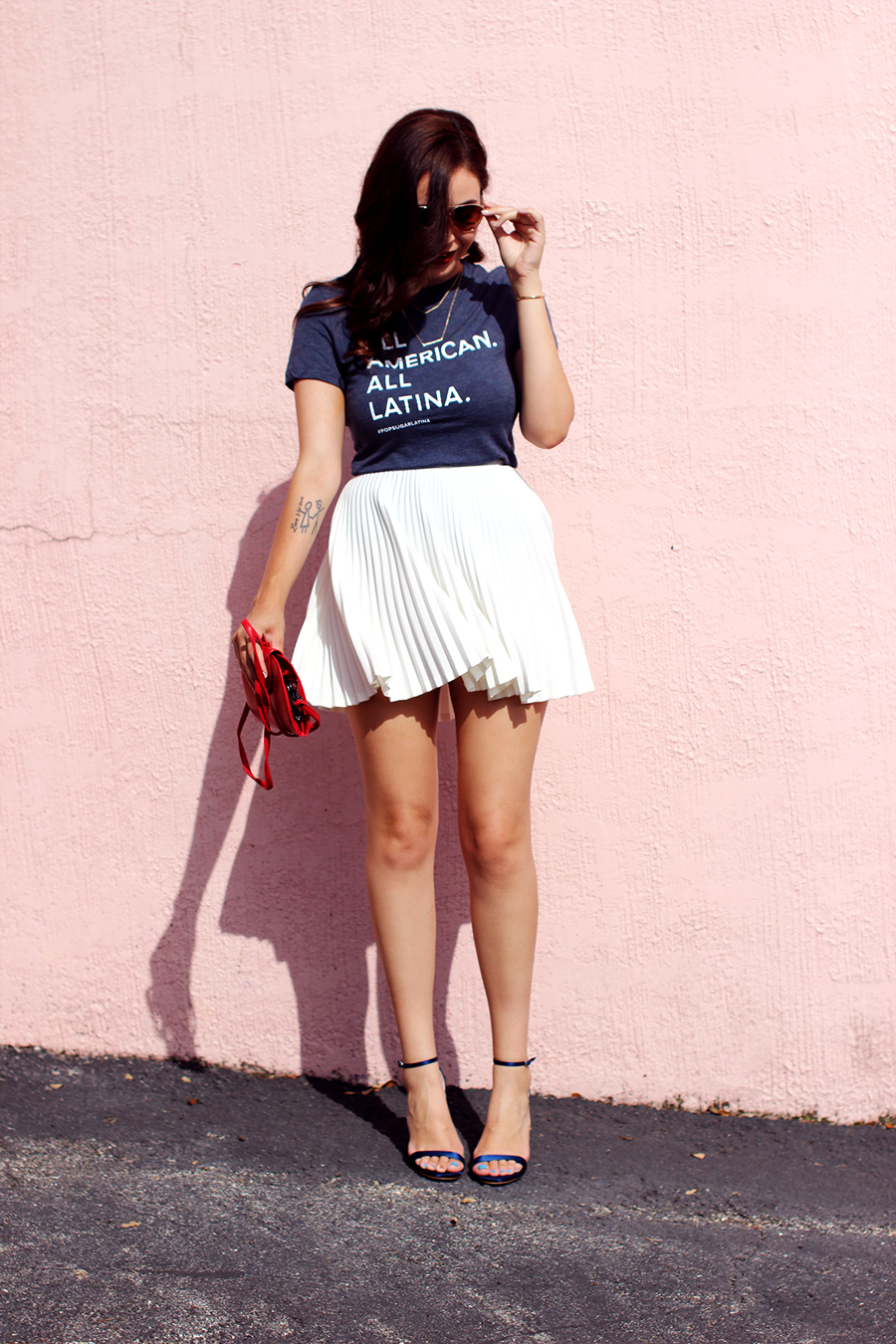 Fixin to Thrill | Austin Fashion Blog: 4th of July x Popsugar Latina