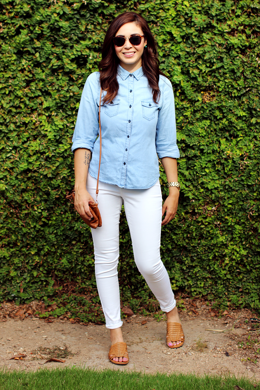 Fixin to Thrill | Austin Fashion Blog: Chambray