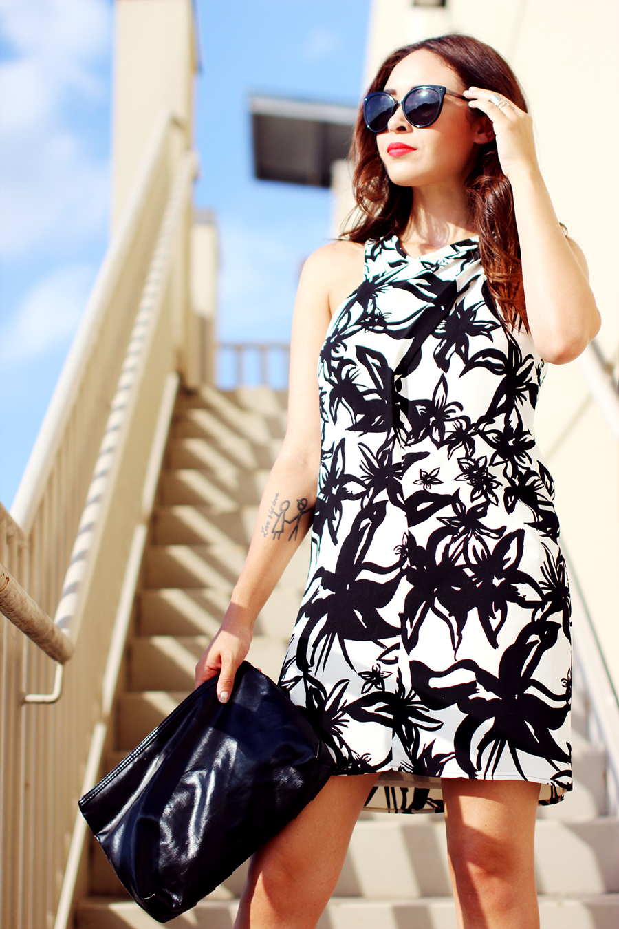 Fixin to Thrill | Austin Fashion Blog: Graphic Print by MNG