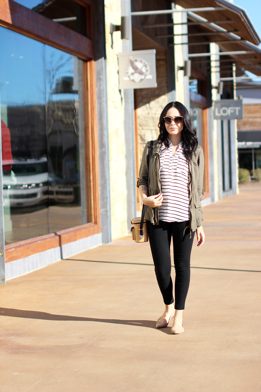 FTT-CARGO-JACKET-SHOPPING-HILL-COUNTRY-GALLERIA-SKINNY-JEANS-STRIPES