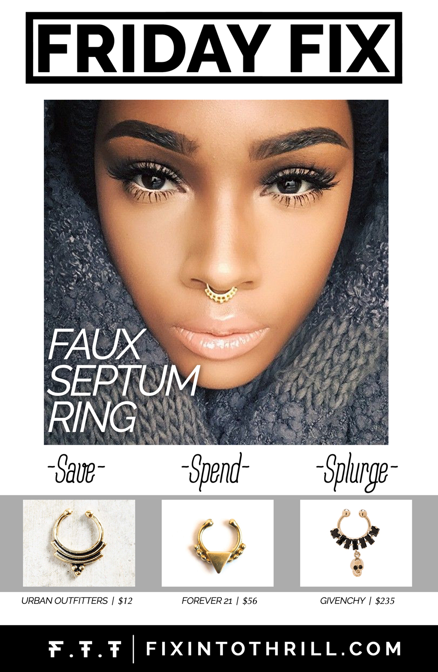 FTT-FRIDAY-FIX-: Faux Septum Ring