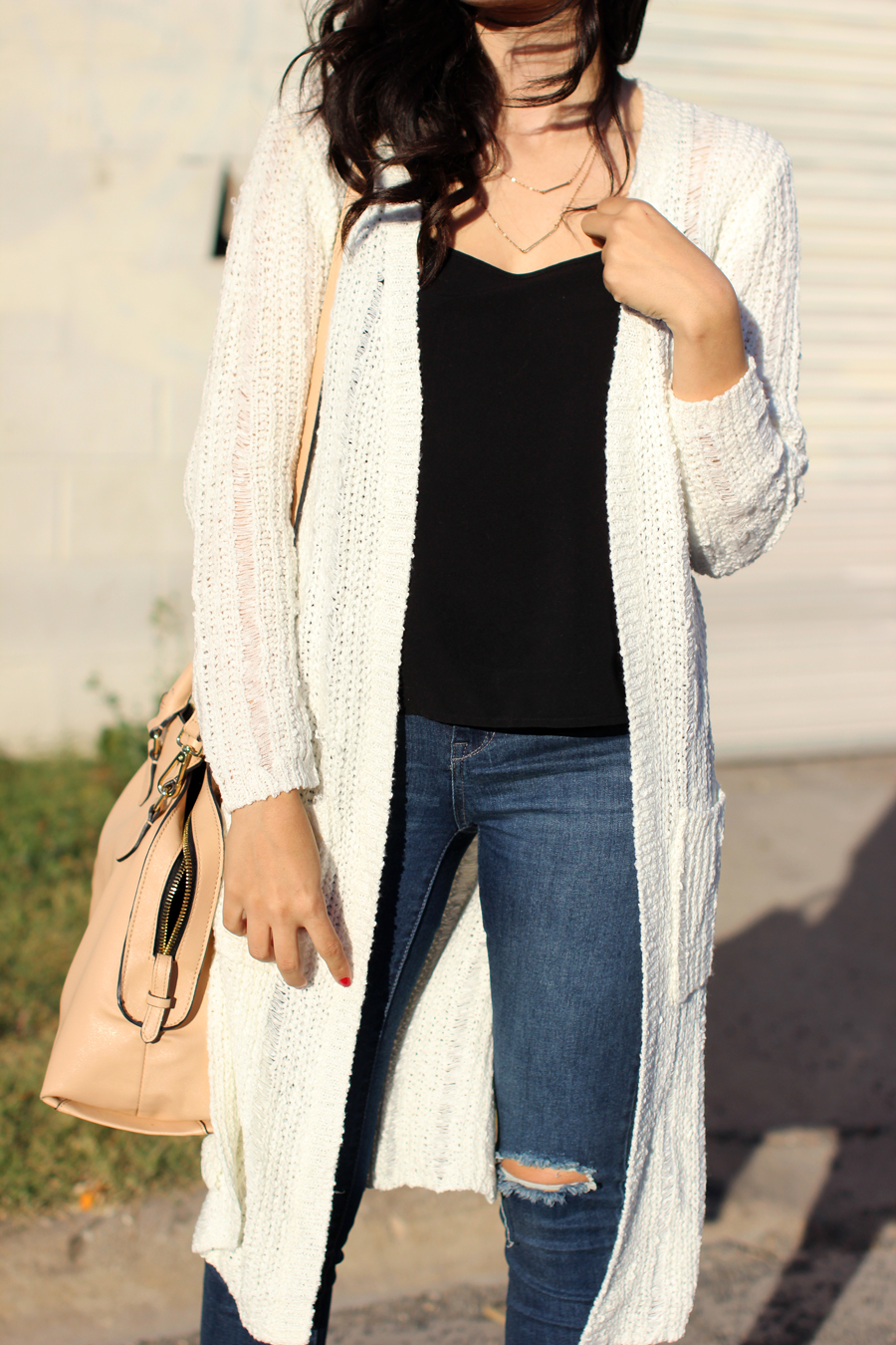 FTT-SHOP-PINK-BLUSH-RIPPED-JEANS-DUSTER-CARDIGAN-CASUAL