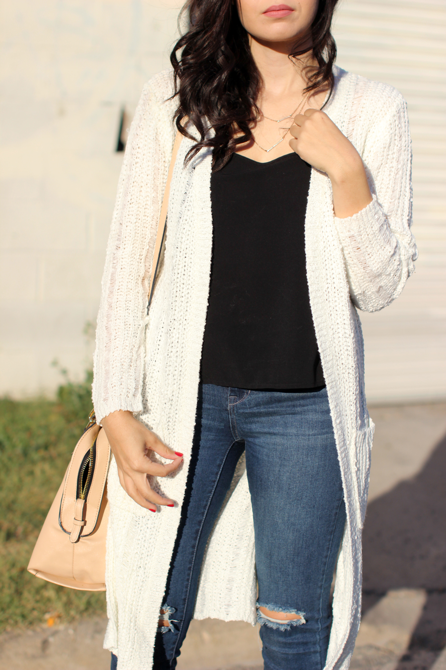 FTT-SHOP-PINK-BLUSH-RIPPED-JEANS-DUSTER-CARDIGAN-CASUAL5