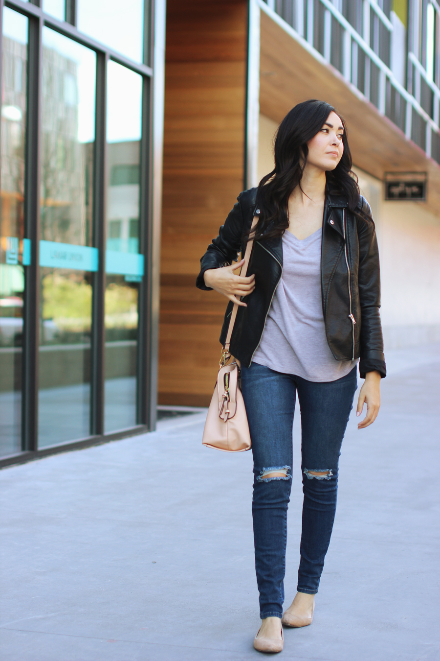 FTT-RIPPED-JEANS-LEATHER-JACKET-CASUAL-ALAMO-DRAFTHOUSE
