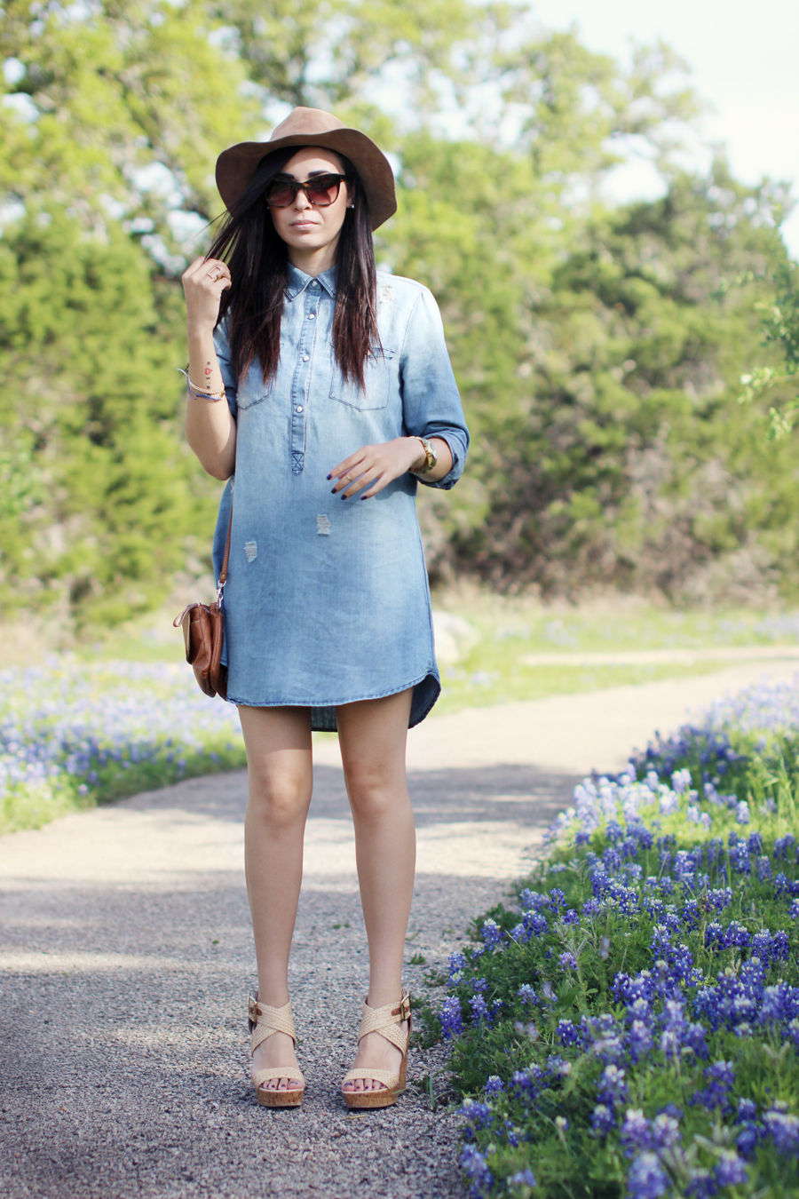 Fixin to Thrill | Spring in Chambray with The Lily James Collection