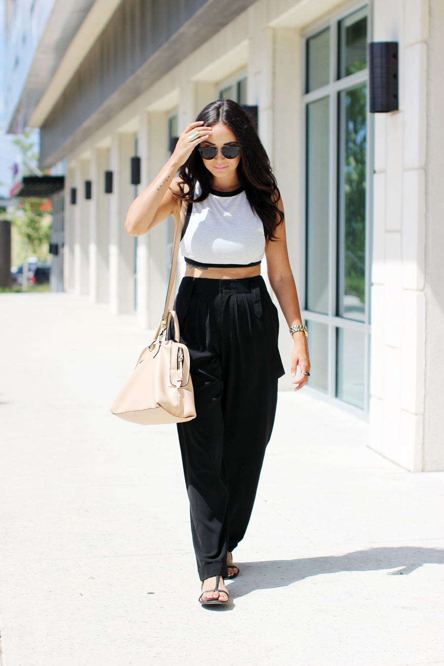 FTT-OVERALL-TROUSER-PANT-CROP-TOP-BLUSH-BAG-
