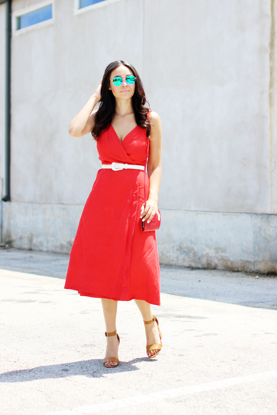 FTT-RED-WRAP-MIDI-DRESS-SUMMER-STYLE-10